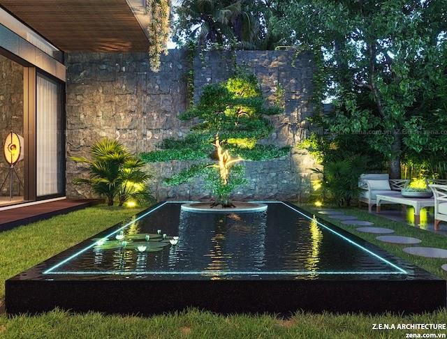 Thiết kế kiến trúc (Thực hiện: Kiến trúc Tây Hồ)