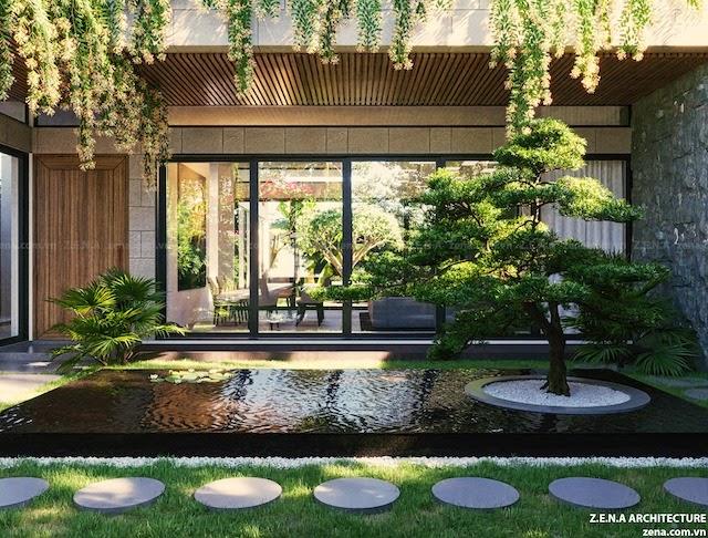 Thiết kế nội thất (Thực hiện: Kiến trúc Tây Hồ)