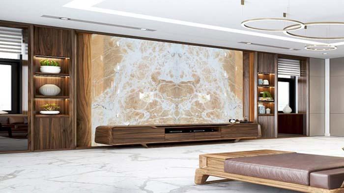 Đá Onyx được ứng dụng nhiều trong trang trí nội thất