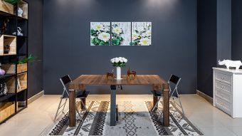 Những bộ bàn ghế ăn đẹp mặt gỗ chất lừ