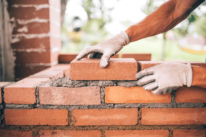 Gạch xây tường bằng đất nung