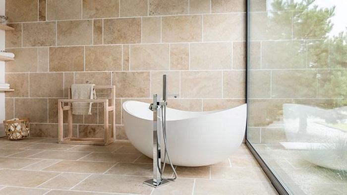 Màu gạch ốp tường nhà tắm