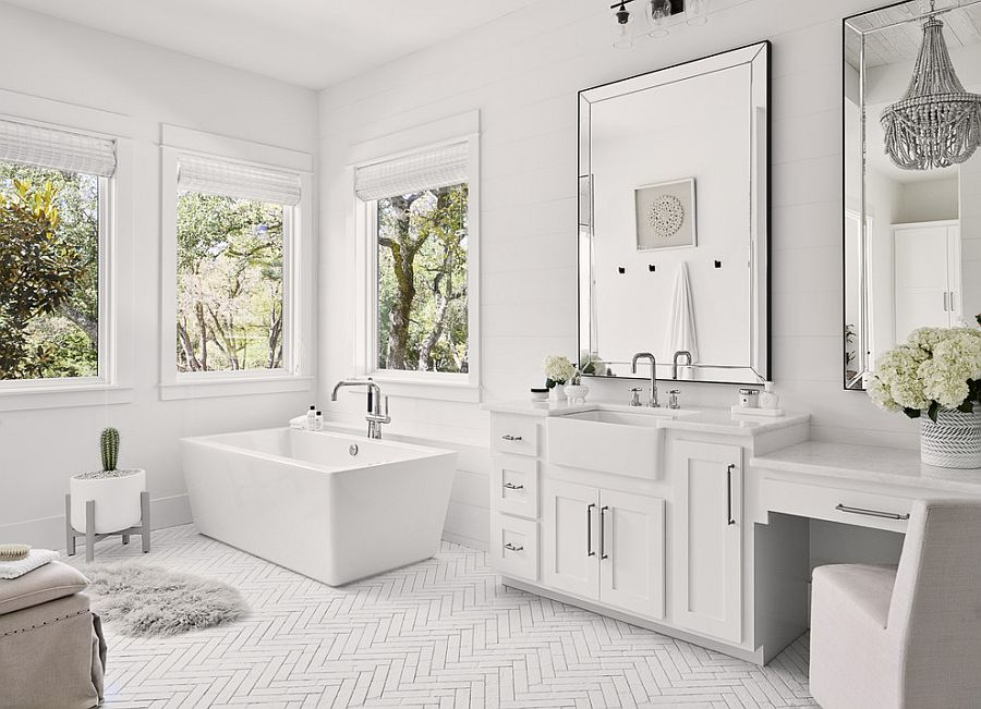 Ưu tiên lựa chọn các thiết bị hiện đại phù hợp cho không gian phòng tắm