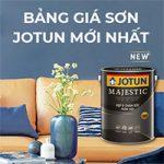 Bảng giá sơn Jotun chính hãng mới nhất