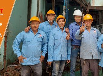 Nhà cấp 4 được Nga Việt sửa chữa trọn gói uy tín tại TpHCM